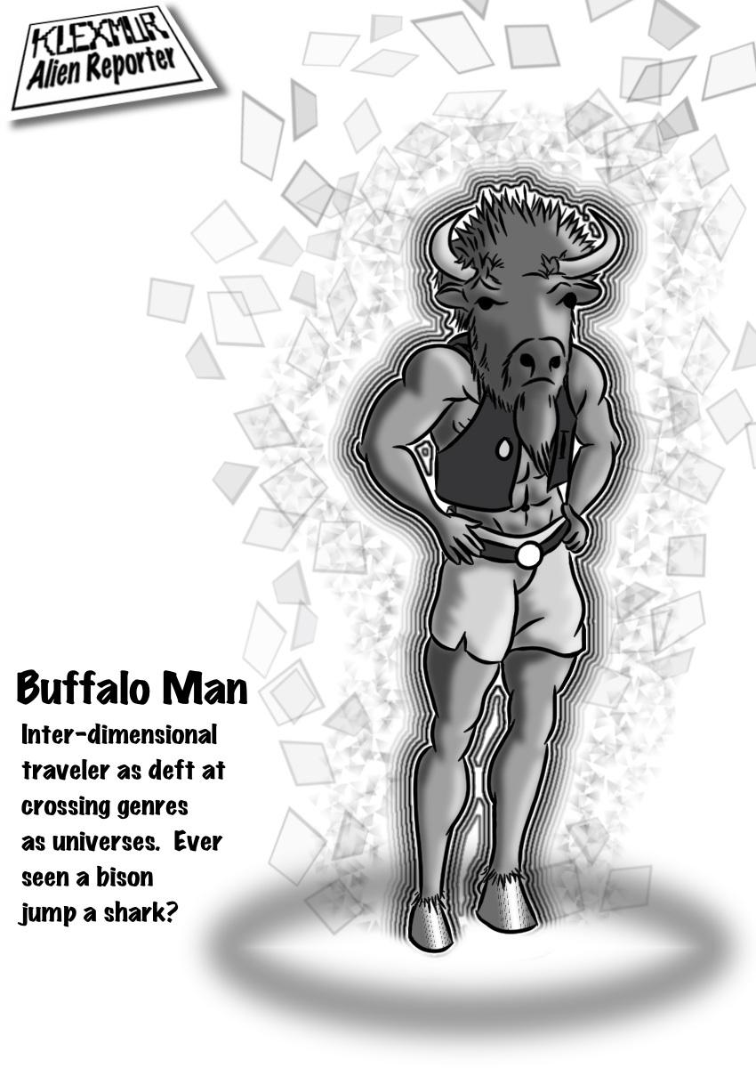 Day 25: Buffalo Man