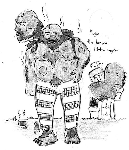 Mogo the Human Filthmonger