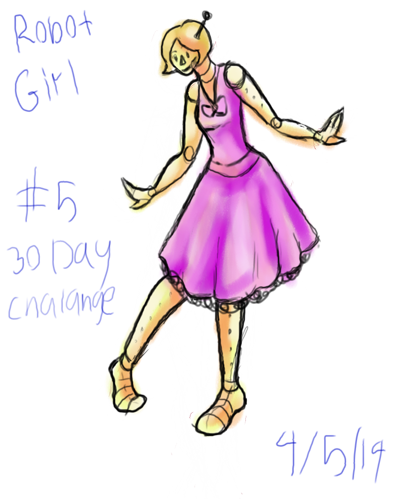 #5 Robot girl