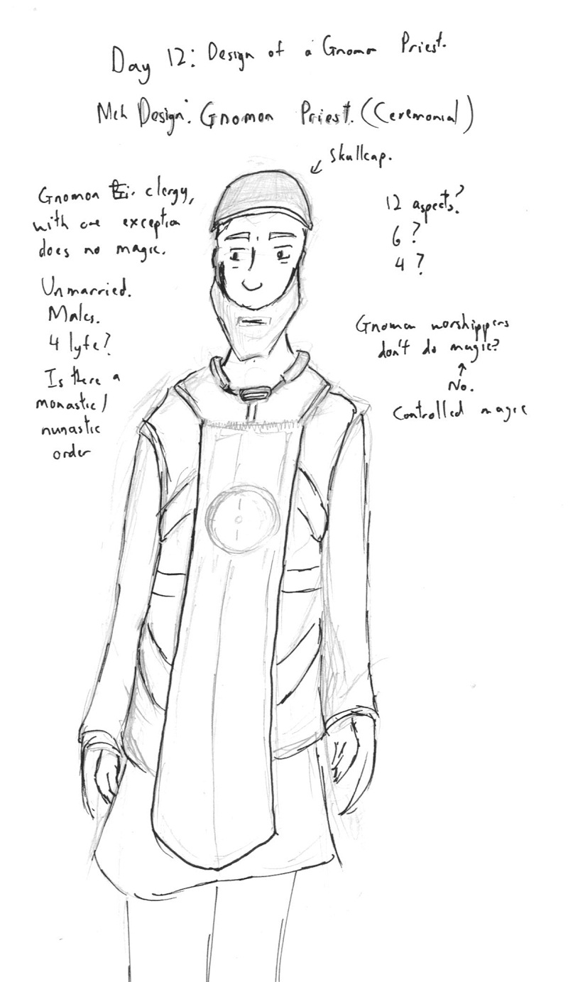 12-A Priest of The Gnomon