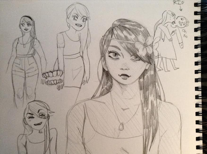 Day 5 - Vampire Girl