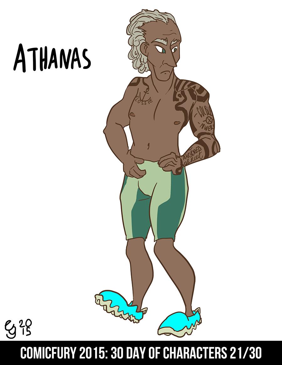 Day 21: Athanas
